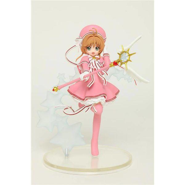Figura Sakura Kinomoto in pink Cardcaptor Sakura Clear Card