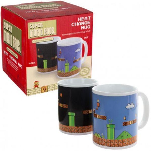 Taza Térmica Super Mario Bros Nintendo