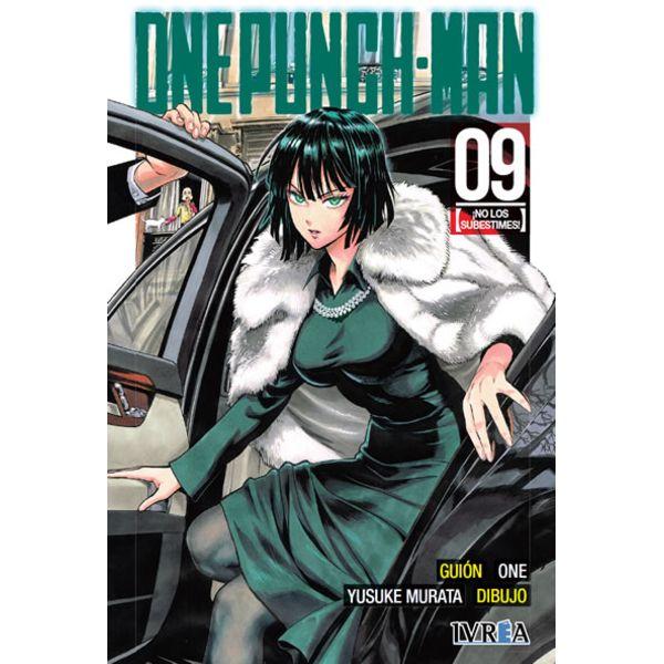 One Punch Man #09 (Spanish) Manga Oficial Ivrea
