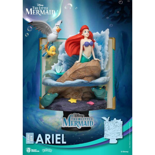 Figura Ariel La Sirenita Disney Diorama D-Stage Story Book Series