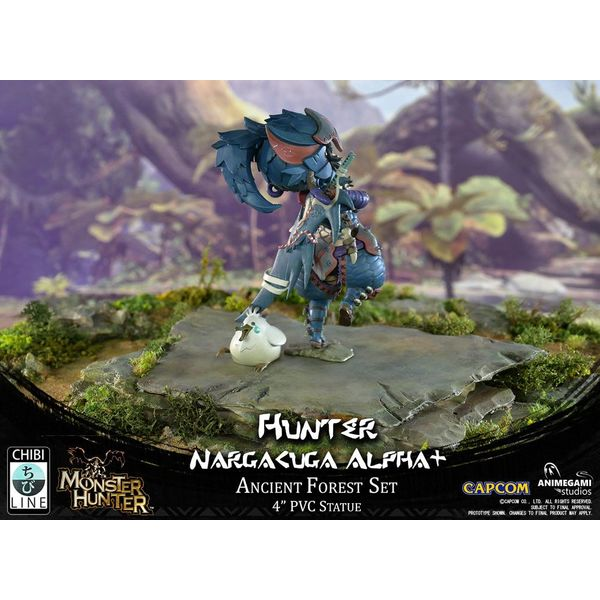 Monster Hunter Estatua PVC Nargacuga Alpha+ 10 cm