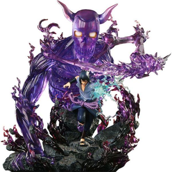Estatua Sasuke Uchiha Naruto Shippuden Hex