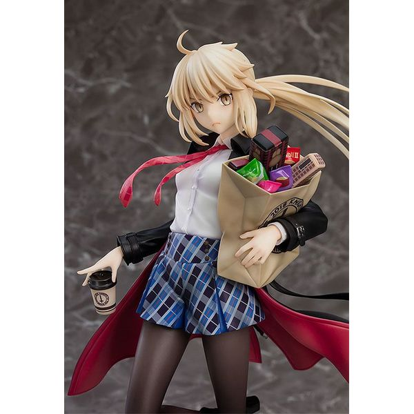 Figura Saber Altria Pendragon Alter Fate Grand Order Heroic Spirit Traveling Outfit