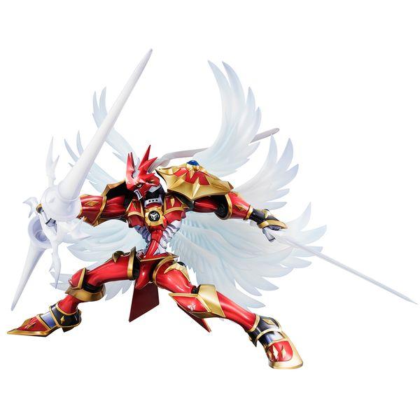 Figura Dukemon Crimson Mode Digimon Tamers G.E.M