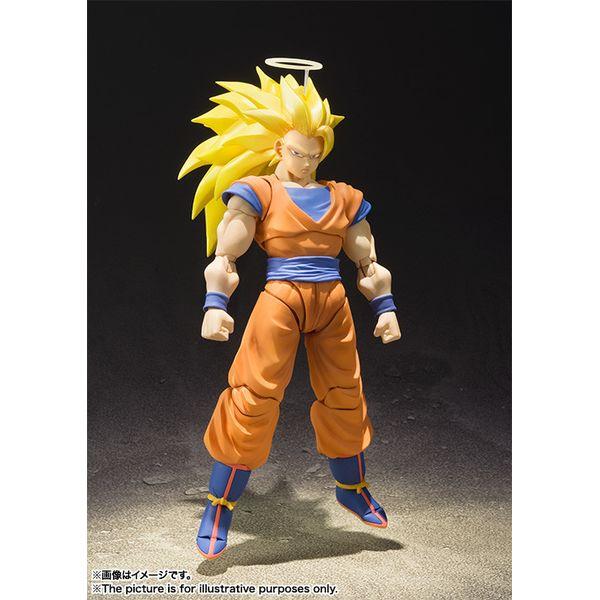SH Figuarts Son Goku SSJ3 Dragon Ball Z