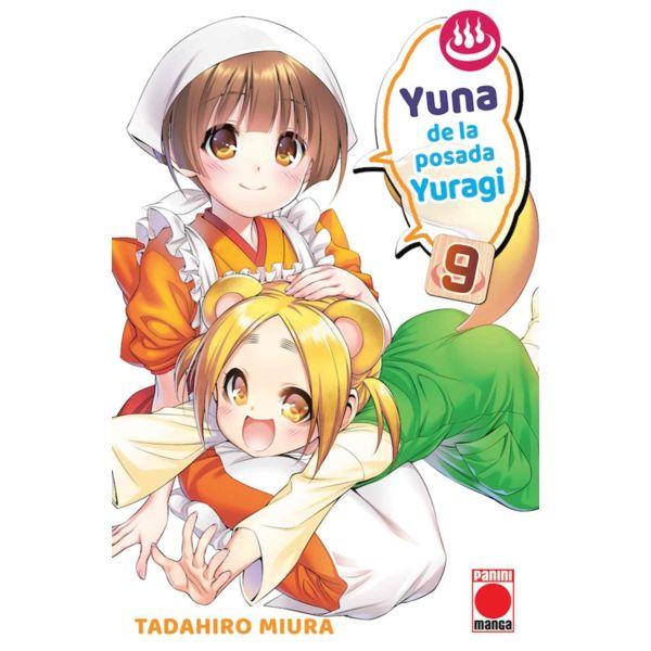 Yuna de la posada Yuragi #09 Manga Oficial Panini Manga