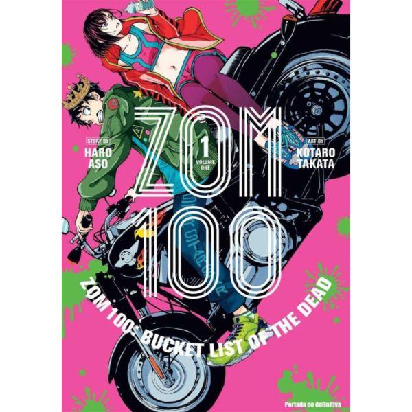 Zombie 100 #01 Manga Oficial Panini Manga