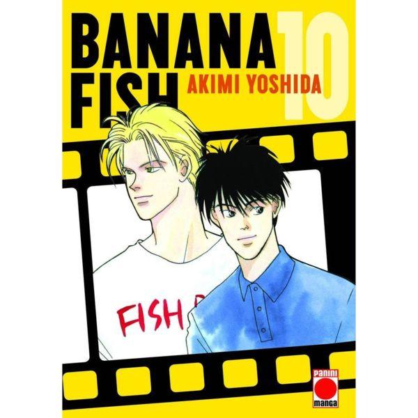 Banana Fish #10 Manga Oficial Panini Manga