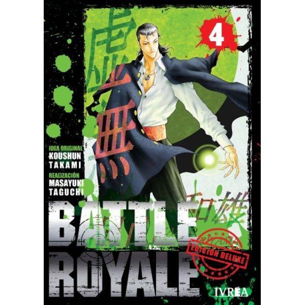 Battle Royale Edición Deluxe #04 Manga Oficial Ivrea