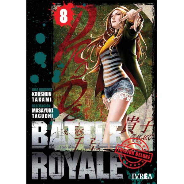 Battle Royale Edición Deluxe #08 Manga Oficial Ivrea (spanish)