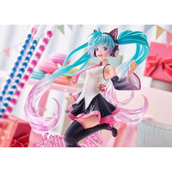 Figura Hatsune Miku Birthday 2021 Happy Cat Vocaloid
