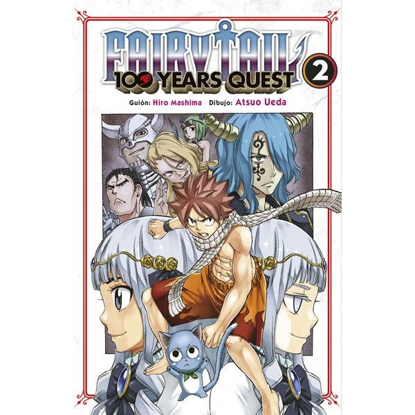 Fairy Tail: 100 Years Quest #02 Manga Oficial Norma Editorial (spanish)