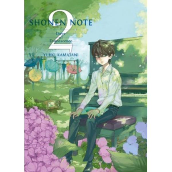 Shonen Note #02 Manga Oficial Tomodomo