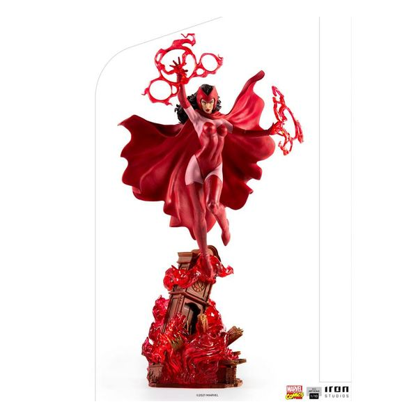 Estatua Bruja Escarlata Wanda Maximoff Marvel Comics BDS Art Scale