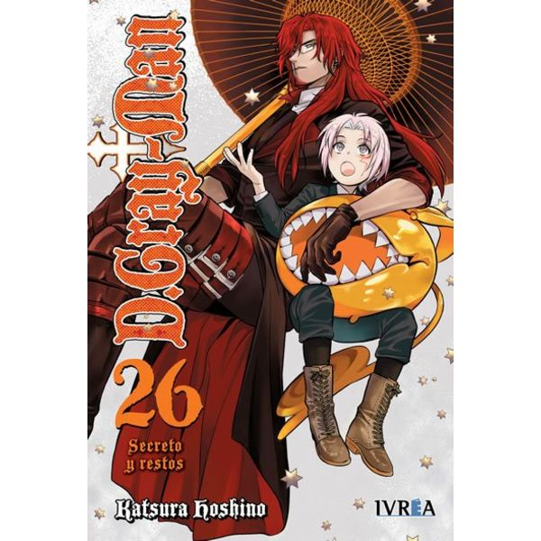 D.Gray-Man #26 Manga Oficial Ivrea (spanish)