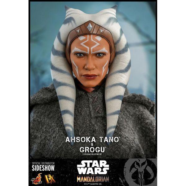 Ahsoka Tano & Grogu Figure Star Wars The Mandalorian Hot Toys