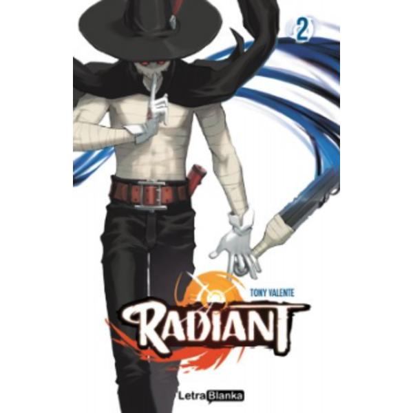 Radiant #02 Oficial Letra Blanka