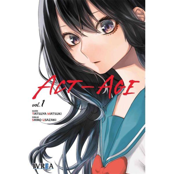 ACT-AGE #01 Manga Oficial Ivrea (spanish)