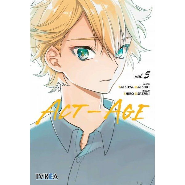 ACT-AGE #05 Manga Oficial Ivrea