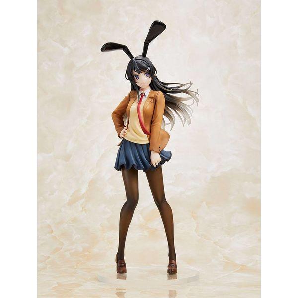 Figura Mai Sakurajima Mai Uniform Bunny Rascal Does Not Dream of Bunny Girl Senpai