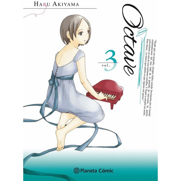 Octave #03 Manga Oficial Planeta Comic