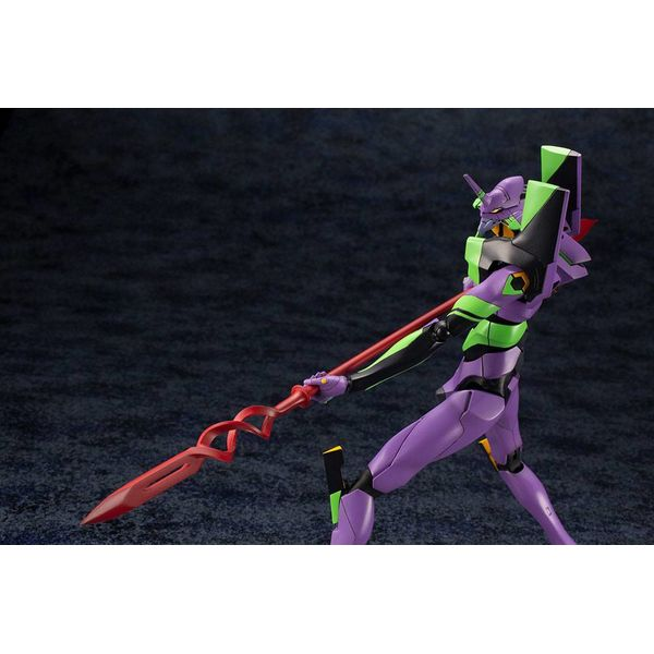 Model Kit Test Type-01 with Spear of Cassius Rebuild Of Evangelion