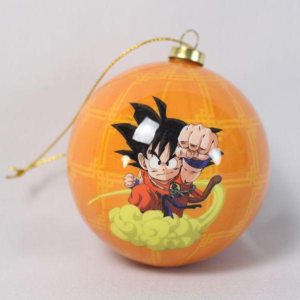 Adorno Navidad Goku Niño y Nube Kinton Dragon Ball