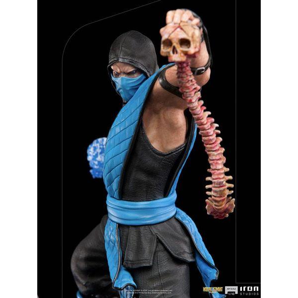 Estatua Sub Zero Mortal Kombat Art Scale