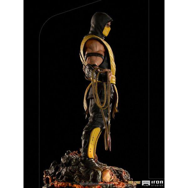 Estatua Scorpion Mortal Kombat Art Scale