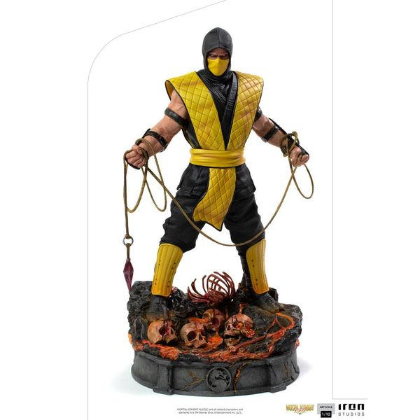 Estatua Scorpion Mortal Kombat Art Scale