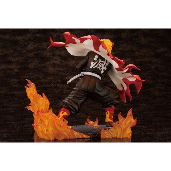 Figura Kyojuro Rengoku Kimetsu no Yaiba ARTFXJ Bonus Edition