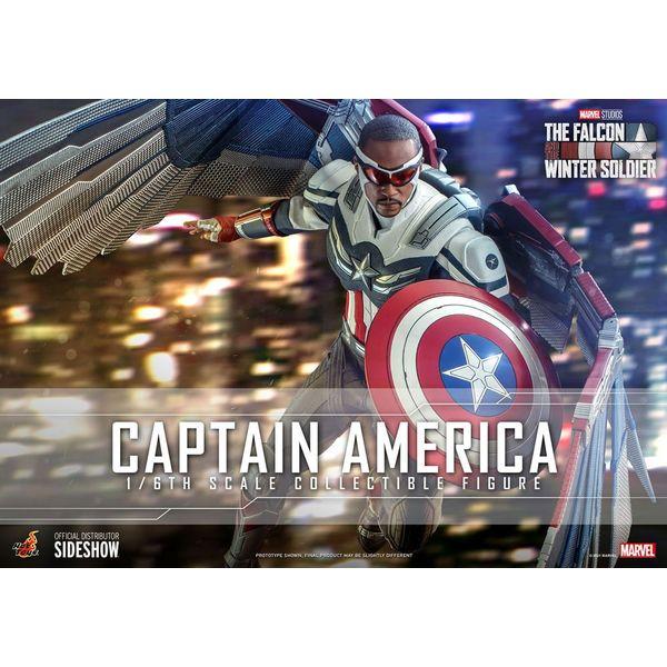 Figura Capitan America The Falcon and The Winter Soldier Marvel Comics Hot Toys