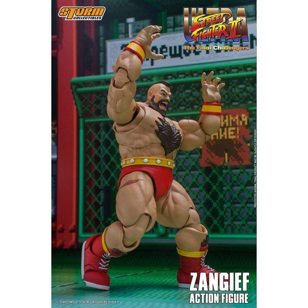 Figura Zangief Ultra Street Fighter II The Final Challengers