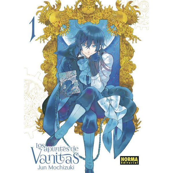 Los Apuntes De Vanitas #01 Manga Oficial Norma Editorial