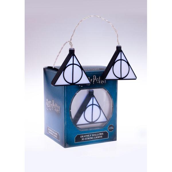 Luces Reliquias de la Muerte Harry Potter Mixed 3D String Lights