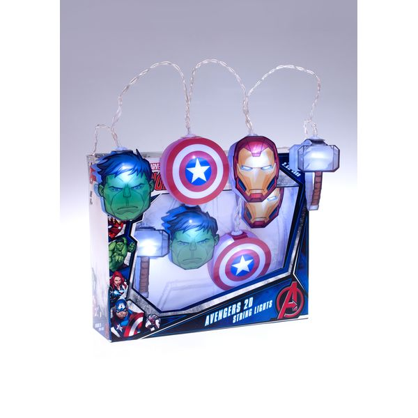 Luces Vengadores Marvel Comics 2D