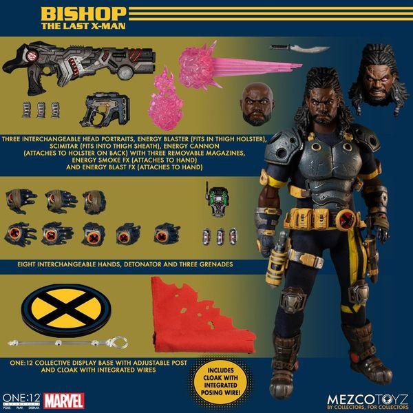Figura Bishop X Men Marvel Comics