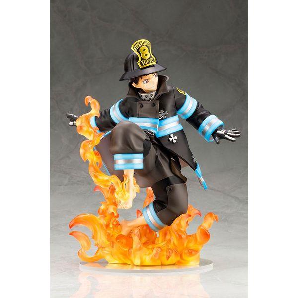Figura Shinra Kusakabe Bonus Edition Fire Force ARTFXJ