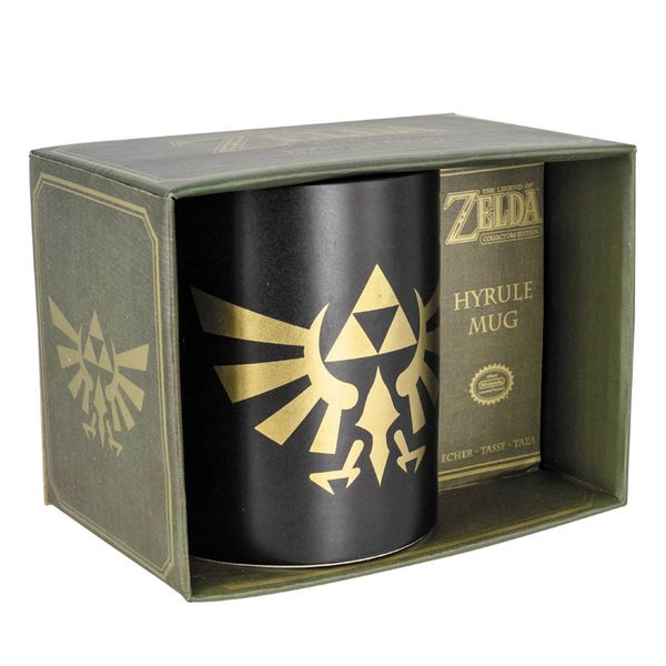 Taza The Legend of Zelda - Trifuerza