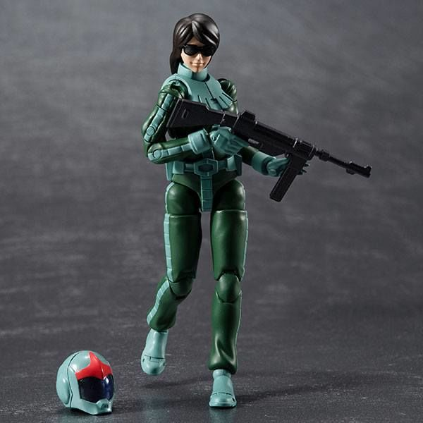 Figura Zeon Army Soldier 05 Normal Suit Mobile Suit Gundam G.M.G.