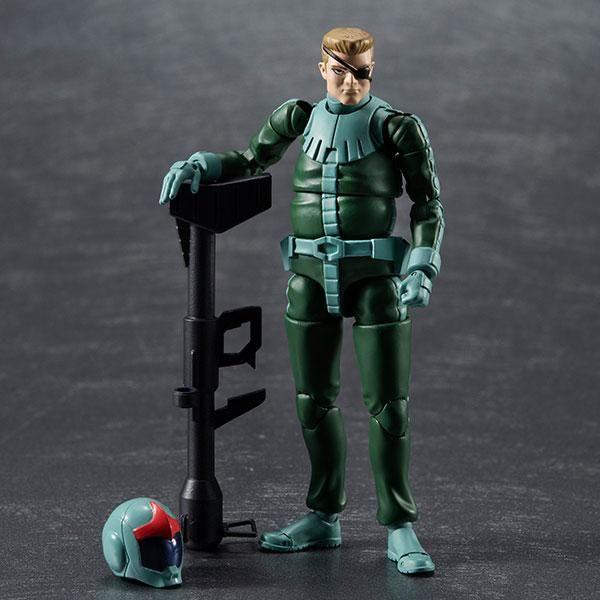 Zeon Army Soldier 04 Normal Suit Figure Mobile Suit Gundam G.M.G.