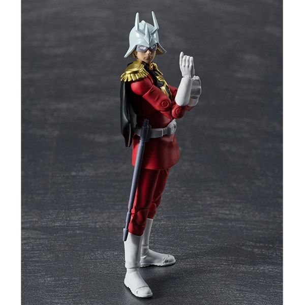 Zeon Army Soldier 06 Char Aznable Figure Mobile Suit Gundam G.M.G.