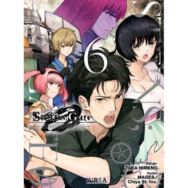 Steins;Gate Zero #06 Manga Oficial Ivrea