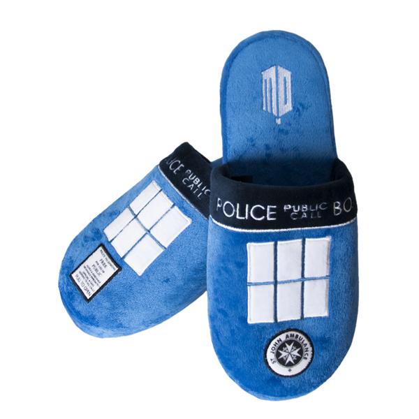 Zapatillas TARDIS Doctor Who Abiertas