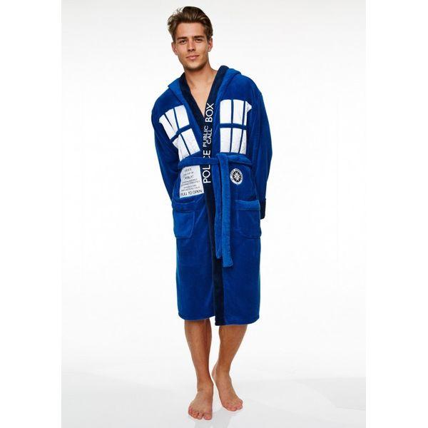 TARDIS Bathrobe Doctor Who