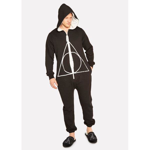 7e75ba638dc Deathly Hallows Pijamas Harry Potter Jumpsuit