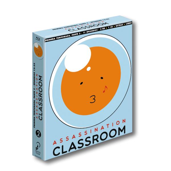 Assassination Classroom Temporada 1 Parte 2 Edición Coleccionista Bluray