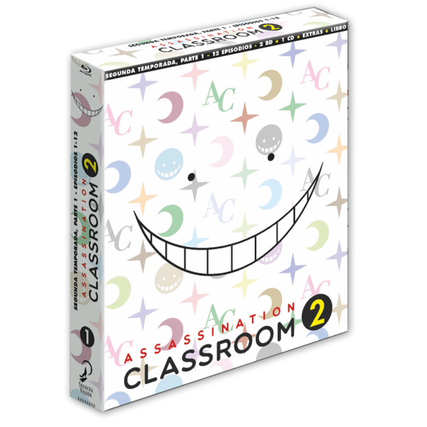Assassination Classroom Temporada 2 Parte 1 Edición Coleccionista Bluray