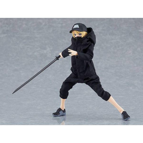 Figma 524 Female Body Yuki with Techwear Outfit