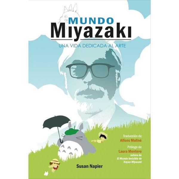 Mundo Miyazaki Una vida dedicada al Arte Libro Ediciones Dolmen (Spanish)